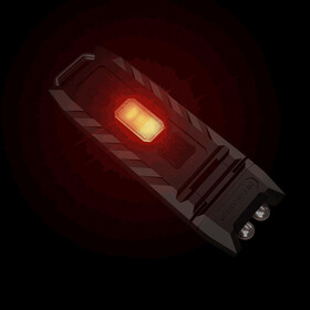 NITECORE Pocket LED Thumb - Élément réfléchissant - noir